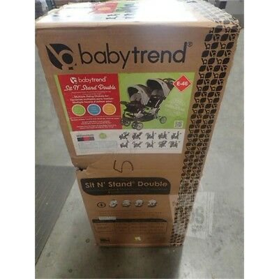 Baby Trend Sit N' Stand Double Stroller, Millenium SS76773*