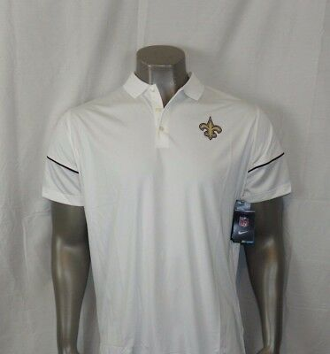 abea6c7c NEW ORLEANS SAINTS Nike DRI-FIT Performance Polo New With Tags ...