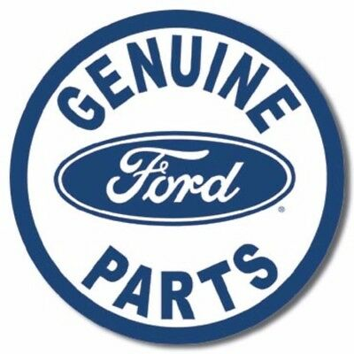FORD Genuine Parts Round Vintage Advertising Tin Sign #791