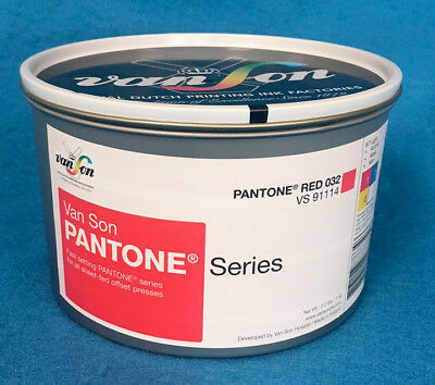 VAN SON QUICKSON SERIES PANTONE RED 032 VS91114 2.2 lb. CAN
