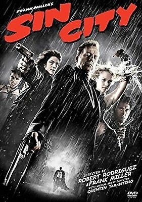Frank Millers - Sin City - Rated 18 Dvd - 8717418047931 - Quentin Tarantino