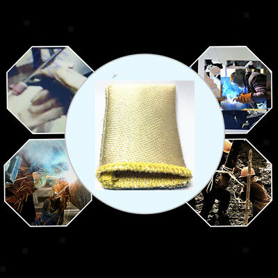 Glass fiber TIG Finger Welding Gloves Heat Shield Guard Heat Protection