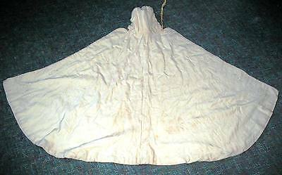 Antique Hooded  Embroidered Baby or Christening Cape  - from turn of the century