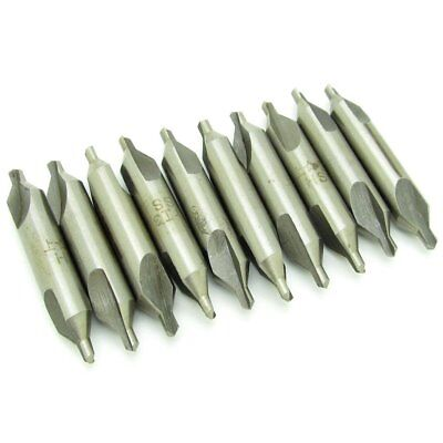 HSS Combined Center Drills Countersinks 60 Degree Angle Bit Set Tool 1.0mm * 4mm