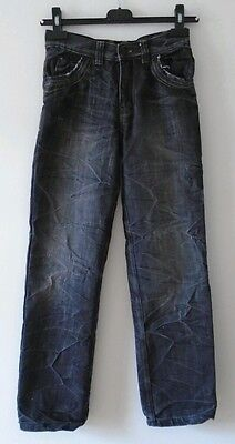 Boys Grey Straight Fit Jeans Age 10-11 Years