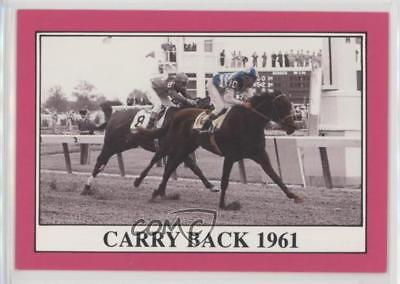 1991 Horse Star Kentucky Derby #87 Carry Back 1961 MiscSports Card