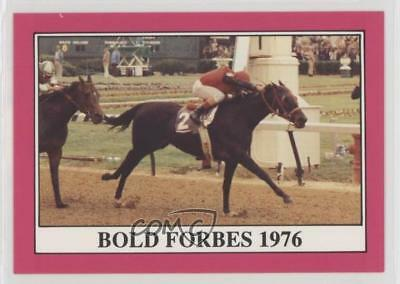 1991 Horse Star Kentucky Derby #102 Bold Forbes MiscSports Card