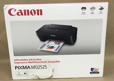 Canon Pixma Mg2525 All In One Inkjet Printer Color Scan Copy Print