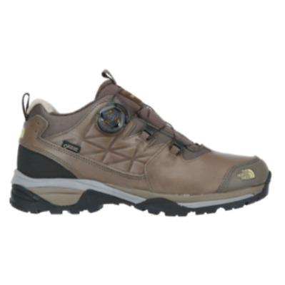 Northface Stom BOA GTX Shoes GoreTex Leather NS95I53A Dark Olive Color Authentic