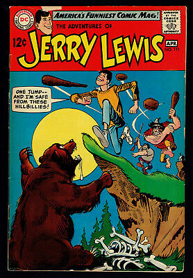 1969 DC The Adventures of Jerry Lewis #111 VG+