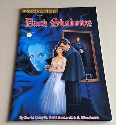 Dark Shadows Book 1 #1 F Innovation 1992 Painted Comics By Smith-Sale
