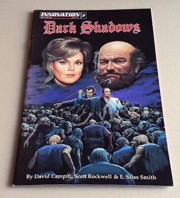 Dark Shadows Book 1 #3  F Innovation 1992 Painted Comics By Smith-Sale