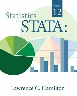 Statistics with Stata by Lawrence C. Hamilton 9780840064639 (Paperback, 2012)
