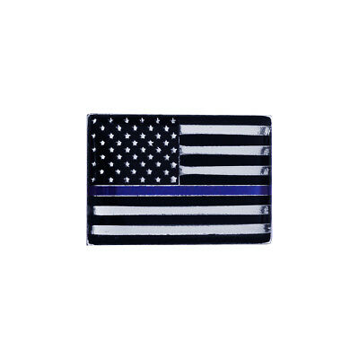 Thin Blue Line Police Lives Matter Lapel/Collar Pin US Flag Cop Uniform Tie Tack