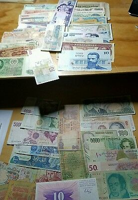 Foreign World Currency 50 Note Lots!! C-UNC