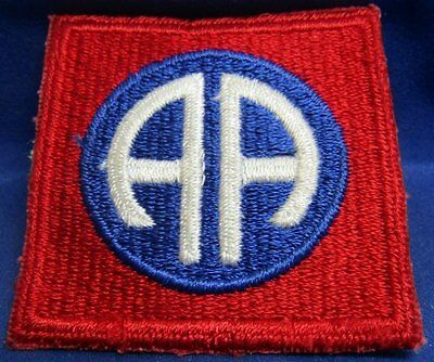 WWII 82nd Airborne Division Patch - AMAZING CONDITION WITH NO GLOW