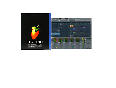 Fl Studio 20 Fruity Loops/signature Music Software/retail Windows License 7/8/10