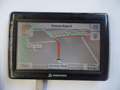 USED MY-50T NAVMAN GPS Automotive GPS ONLY - NO ACCESSORIES