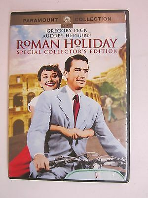 Roman Holiday (DVD, 2002, Collector's Edition)- Gregory Peck, Audrey Hepburn -
