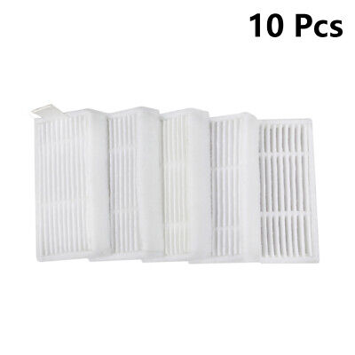 10 Pcs Replacement HEPA Filter For Proscenic Coco Robotic Vacuum Cleaner Parts
