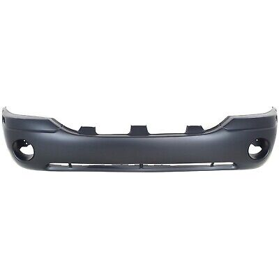 New Primered - Front Bumper Cover For 2002-2009 GMC Envoy SUV SLE SLT 88937036