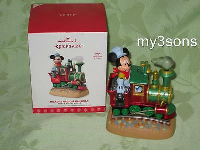 Hallmark ~ 2017 ~ Mickey's Magical Railroad train ~ Repaint ~ Magic ~ free ship
