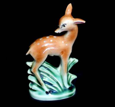 Vintage bambi deer china ultra cute salt shaker