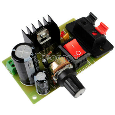 LM317 DC 5V-35V DIY Kit AC/DC Adapter Netzteil Power Supply Board Module Set