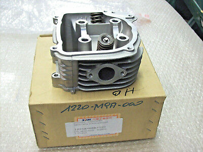 Cylinder Head with Valves - Without Camshaft - SYM Attila 125 ET : 1220a-m9a-000