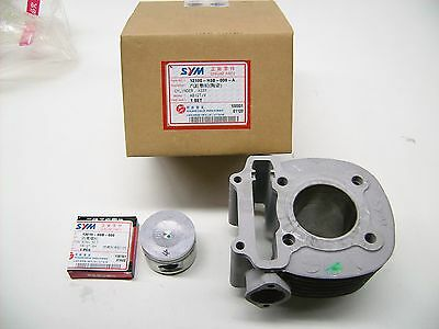 NEW ORIGINAL SYM Cylinders with Pistons for RS 125 - OEM 12100-h6b-000-a