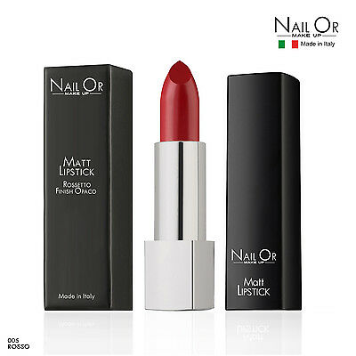 MATT LIPSTICK ROSSETTO MATTE OPACO Nail Or Make Up - No Pupa Avon Oreal Kiko