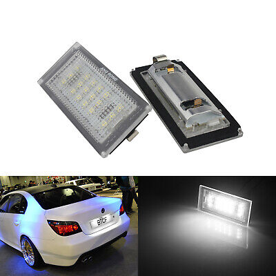 LED Licence Number Plate Light Xenon White For BMW 3 Series E46 Coupe 2004-2006