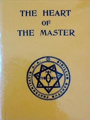CROWLEY - The Heart of the Master (1938) FACSIMILE GREAT CONDITION RARE (OFFERS)