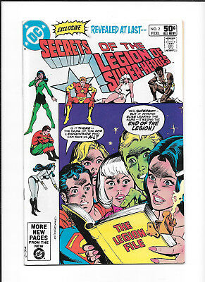 Secrets Of The Legion Of Super Heroes #2 (5.5)