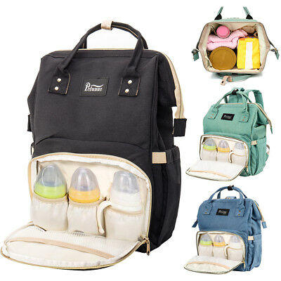 Baby Diaper Nappy Backpack Changing Bag Multifunctional Waterproof