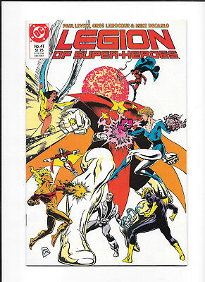 Legion Of Super Heroes #41 (6.0) Dc Copper