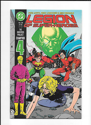 Legion Of Super Heroes #35 (9.2) Dc Copper