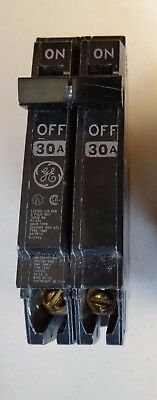 GE THQP230 Thin Series 2-Pole 30-AMP Circuit Breaker