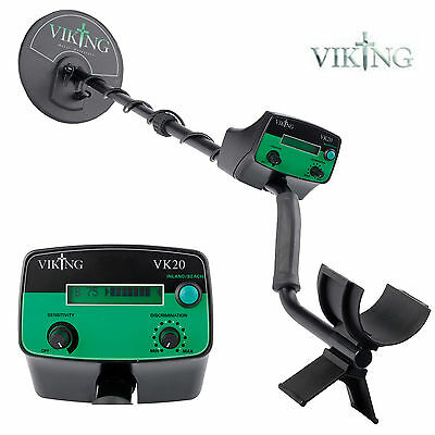 Viking VK20 Metal Detector with Accessories