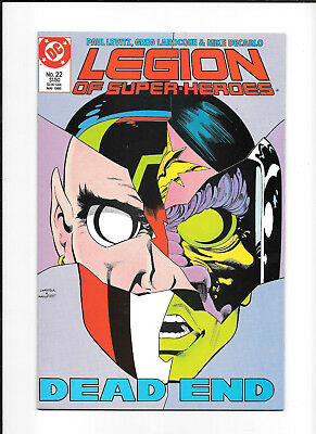 Legion Of Super Heroes #22 (8.0) Dc Copper