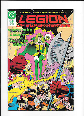 Legion Of Super Heroes #21 (8.0) Dc Copper