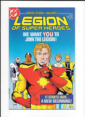 Legion Of Super Heroes #17 (9.2) Dc Copper