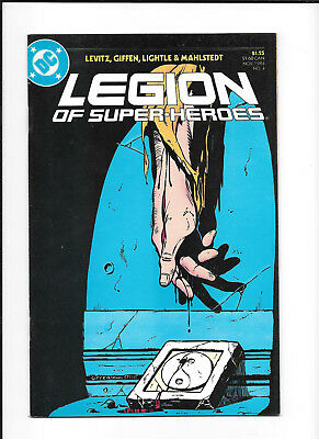 Legion Of Super Heroes #4 (7.5) Dc Copper