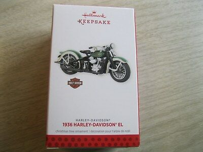 2016 Hallmark Ornament 1980 FXB Sturgis Harley-Davidson Motorcycle - New In Box