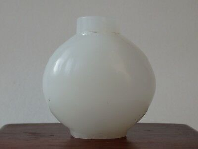 Fine Antique Chinese White Jade Hardstone Snuff Bottle Late Qing