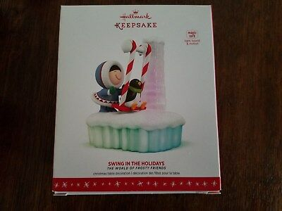 Swing in the Holidays Frosty Friends Magic Cord Hallmark 2016 Keepsake Ornament