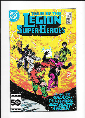 Legion Of Super Heroes #333 (7.5) Dc Copper