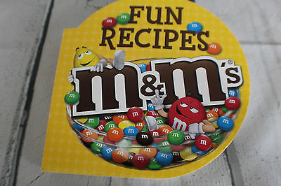 M&M's FUN recipe book packed with GREAT M&M recipes