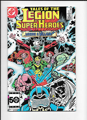 Legion Of Super Heroes #327 (7.5) Dc Copper