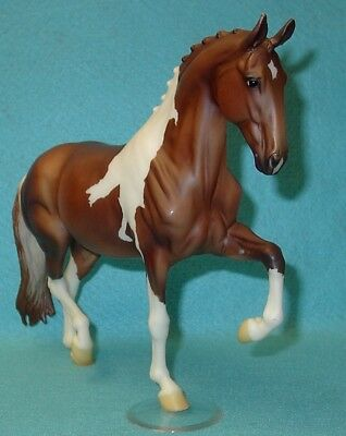 "Breyer Traditional Awesome Chestnut Tobiano ""cloud Nine"" Salinero #1411 Vgc 2010"